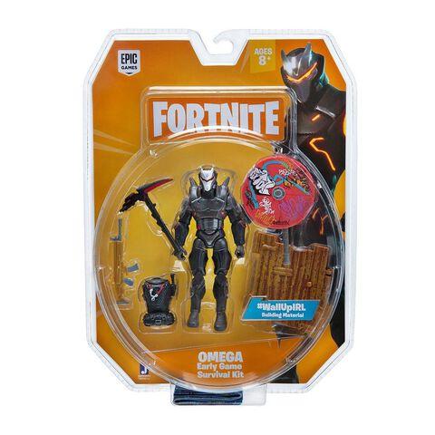 Figurine - Fortnite - Pack Omega Early Game Survival Kit