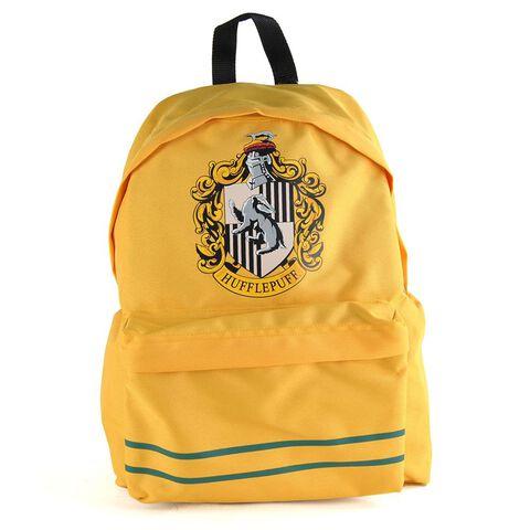 Sac A Dos - Harry Potter - Poufsouffle Avec Logo