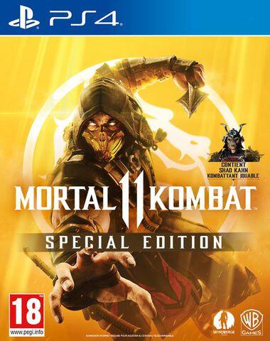 Mortal Kombat 11 Edition Steelbook (Exclusivité MICROMANIA)