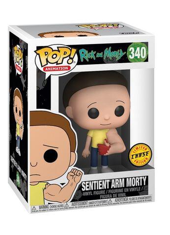 Figurine Funko Pop! N°340 - Rick et Morty - Morty bras sensible (c)