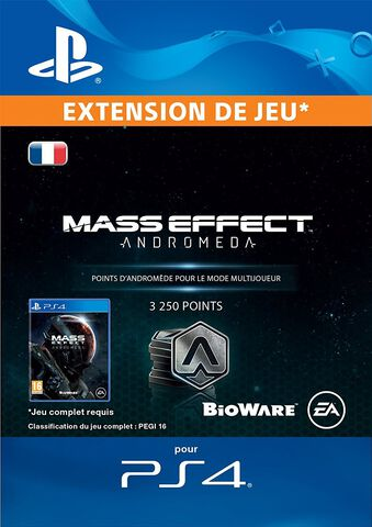 DLC - Mass Effect Andromeda 3250 Points