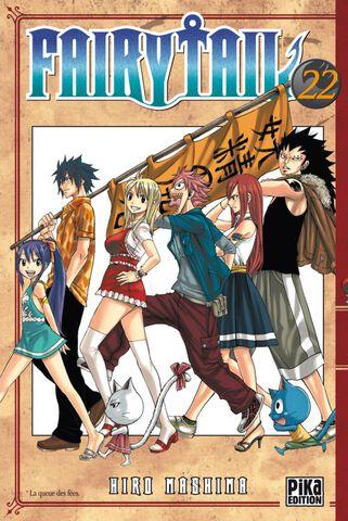 Manga - Fairy Tail - Tome 22
