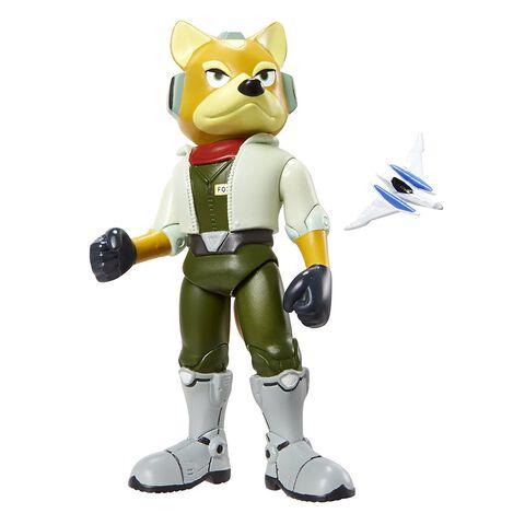 Figurine - Star Fox - Fox McCloud avec Arwing
