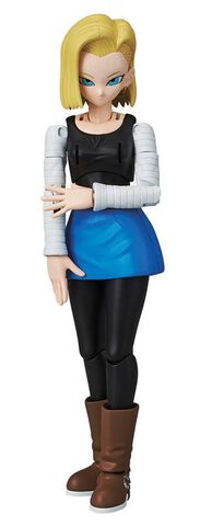 Figurine A Monter Figure-rise - Dragon Ball Z - C-18