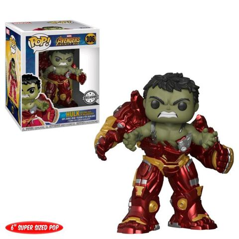 Figurine Funko Pop! N°306 - Avengers Infinity - Hulkbuster 15 cm - Exclusivité Micromania-Zing