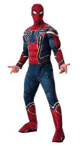 Déguisement adulte luxe -  Iron Spider Infinity War - Taille standard