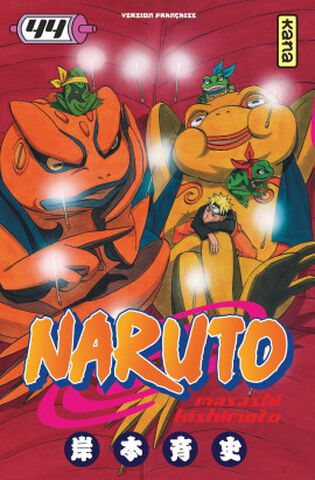 Manga - Naruto - Tome 44