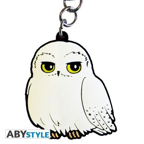 Porte-clés - Harry Potter - Hedwige en PVC