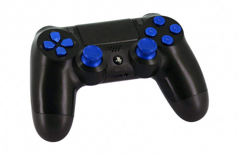 Manette Dual Shock 4 - Custom - Bleu