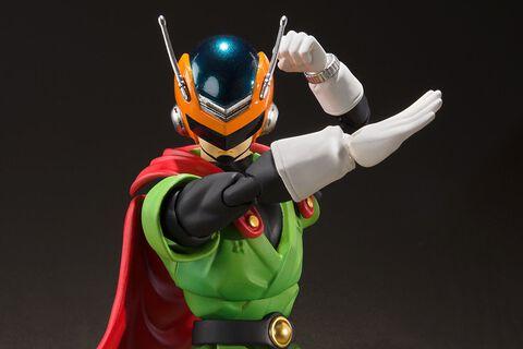 Figurine S.h  Figuarts - Dragon Ball Z - Son Gohan de Great Saiyaman