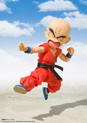 Figurine S.h.figuarts - Dragon Ball - Krillin Early Years