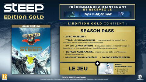 Steep Edition Gold