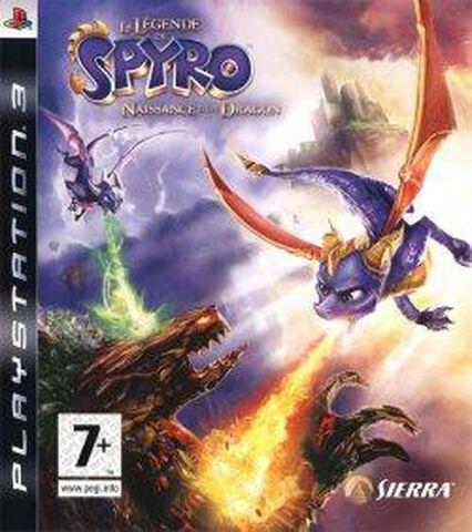 La Legende De Spyro, Naissance D'un Dragon