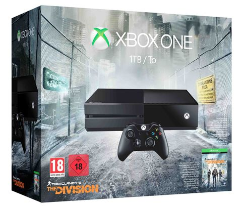 Pack Xbox One 1 To + The Division