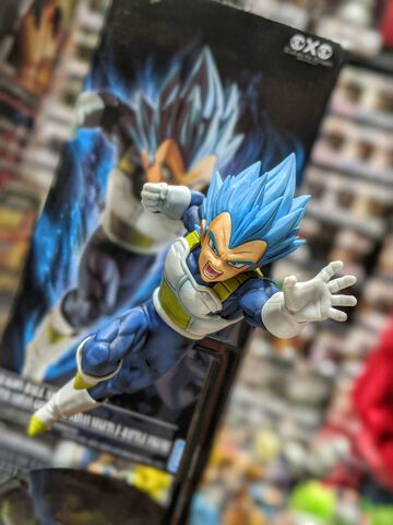 Figurine Z-battle - Dragon Ball Super - Super Saiyan Vegeta