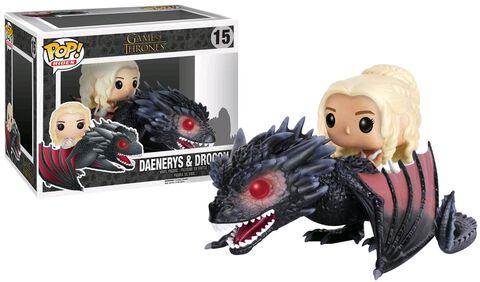 Figurine Funko Pop! N°15 - Game of Thrones - Daenerys & Drogo
