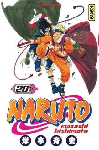 Manga - Naruto - Tome 20