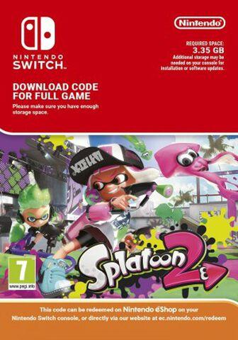 Splatoon 2 - Version numérique