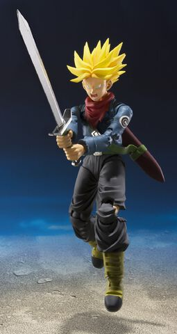 Figurine S.h.figuarts - Dragon Ball Super - Trunks