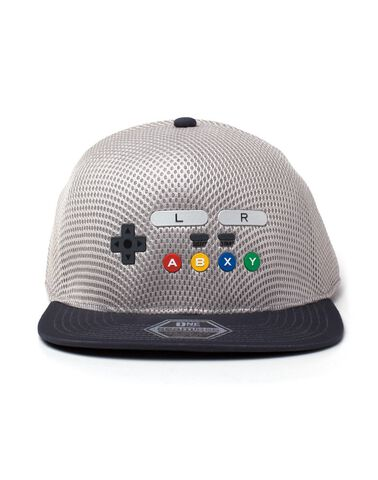 Casquette - Nintendo - SNES Inspired Seamless Flatbill