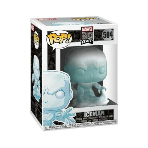 Figurine Funko Pop! N°504 - Marvel 80th : First Appearance - Iceman