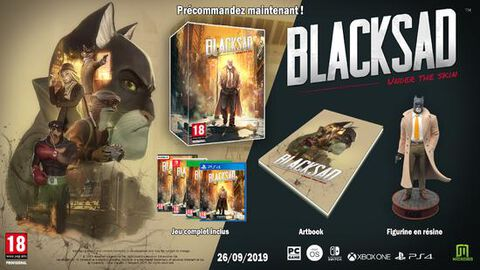 Blacksad Under The Skin Collector