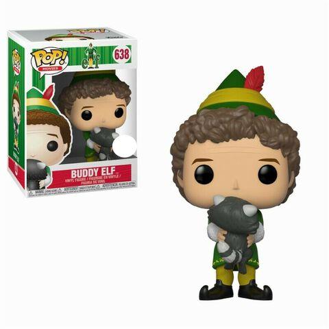 Figurine Funko Pop! N°638 - Elf - Buddy et le Raton Laveur