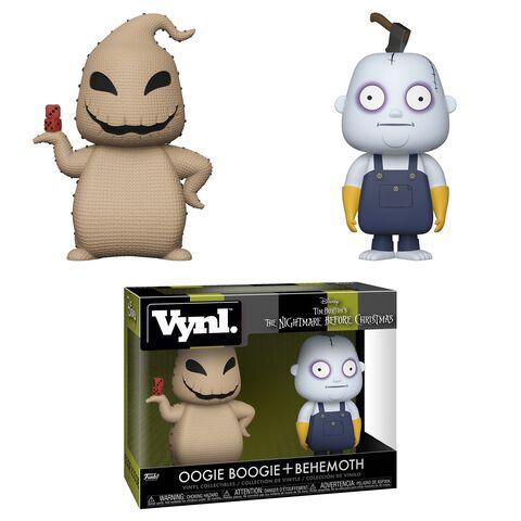 Figurine Vynl - L'Étrange Noël de Monsieur Jack - Twin Pack Oogie Boogie et Behemoth