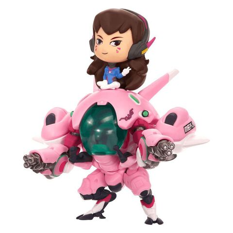 Figurine - Overwatch - Cute But Deadly D.va W/ Mekka