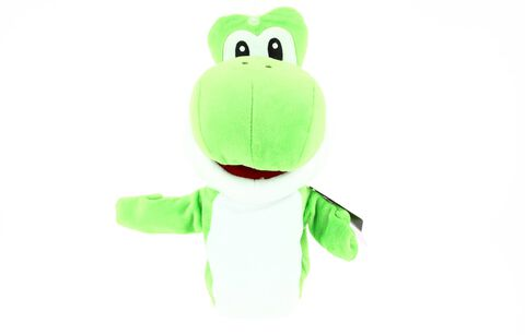 Marionnette Peluche - Mario - Yoshi - Exclusivité Micromania-Zing