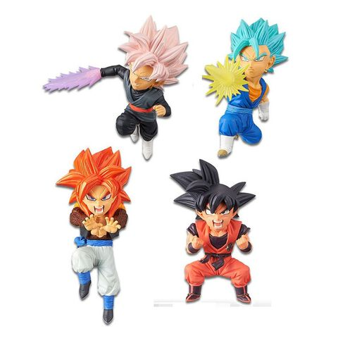 Figurine Mystère WCF - Dragon Ball Super - Saiyans Bravery Volume 1