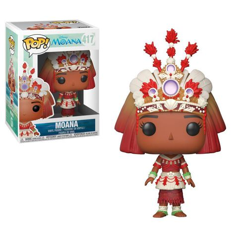 Figurine Funko Pop! N°417 - Vaiana - Vaiana (cérémonie)
