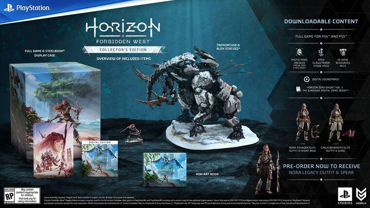 Horizon Forbidden West Edition Collector
