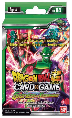 Starter - Dragon Ball Super - Série 4 Blister Guardian Of Namekians