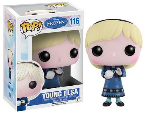 Figurine Funko Pop! N°116 - La Reine Des Neiges - Jeune Elsa