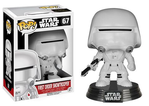 Figurine Funko Pop! N°67 - Star Wars Epvii - First Order Snowtrooper