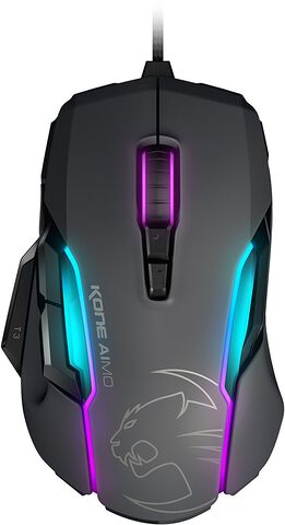 Souris Gaming Roccat Kone Aimo - Rgba Smart Customization Grise