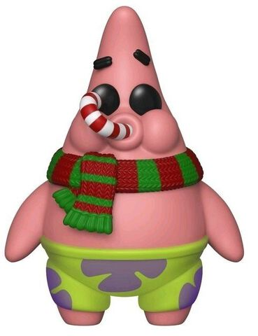 Figurine Funko Pop! N°454 - Bob L'Éponge - Patrick de Noël