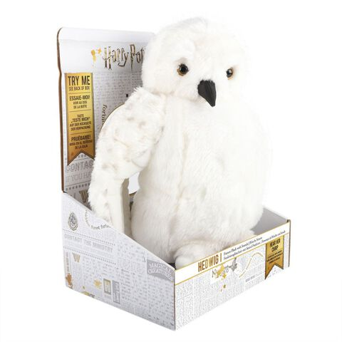 Peluche Sonore - Harry Potter - Hedwig