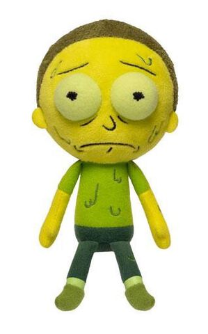 Peluche - Rick Et Morty - Galactic Plushies Morty
