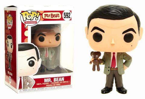 Figurine Funko Pop! N°592 - Mr Bean - Mr Bean avec ours ou dinde (c)