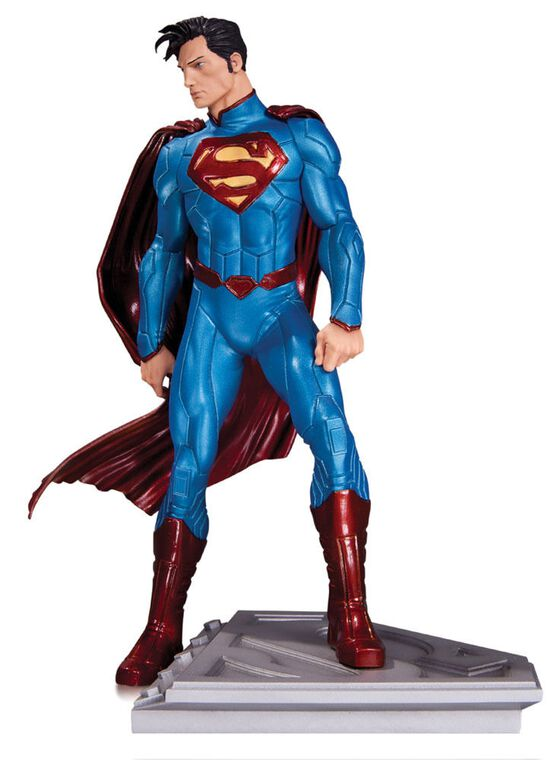 Statuette DC Collectible - Superman - The Man of Steel de John Romita Jr. 18 cm