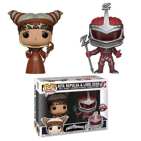 Figurine Funko Pop! 2 - Power Rangers - Twin Pack Rita et Lord Zedd
