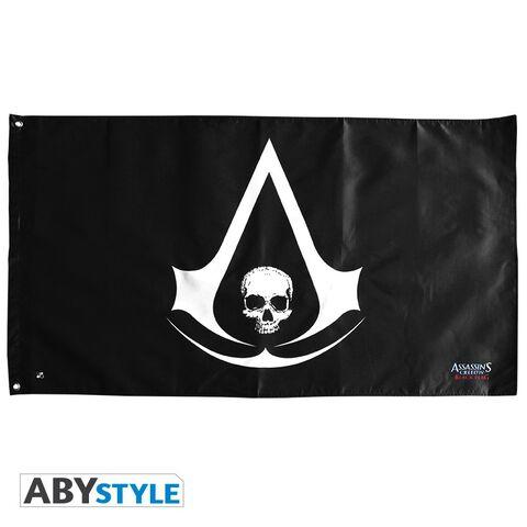 Drapeau - Assassin's Creed - Drapeau Skull - 70x120 cm