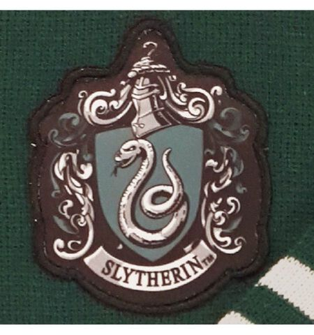 Echarpe - Harry Potter - Serpentard - Taille unique Vert / Gris