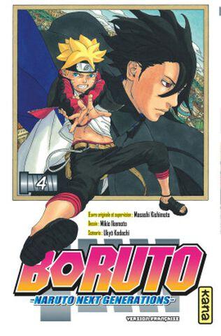 Manga - Boruto : Naruto Next Generations - Tome 4