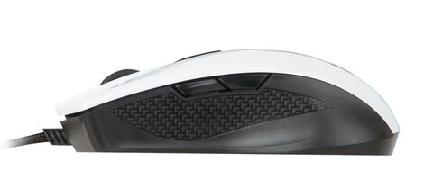 Souris Filaire Ambidextre Gaming Msi Clutch Gm40 Blanche