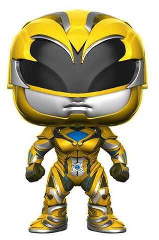 Figurine Funko Pop! N°398 - Power Rangers Le Film - Ranger Jaune