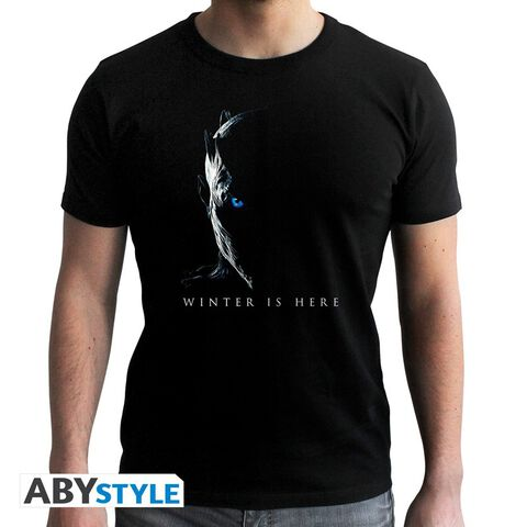T-shirt - Game of Thrones - Night King Noir - Taille L