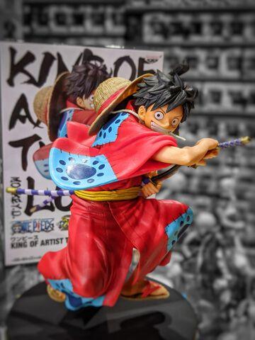 Figurine King Of Artist - One Piece - Monkey D Luffy Wano Kuni